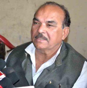 राष्ट्रीय परिवर्तन दल के अध्यक्ष डीपी यादव
