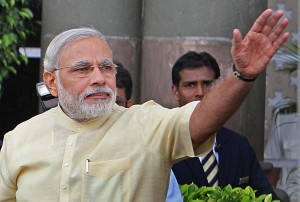 भारतीय जनता पार्टी की ओर से प्रधानमंत्री पद के प्रत्याशी नरेंद्र मोदी