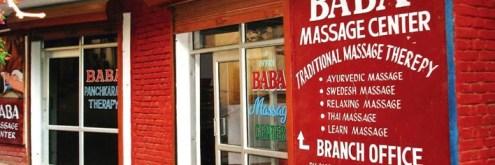 ऋषिकेश का चर्चित बाबा मसाज सेंटर, इसी में विदेशी महिला पर्यटक का यौन उत्पीड़न किया गया।