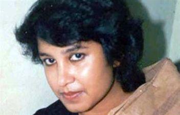 भारत में निर्वासित जीवन बिताने वाली बांग्लादेशी लेखिका तस्लीमा नसरीन।