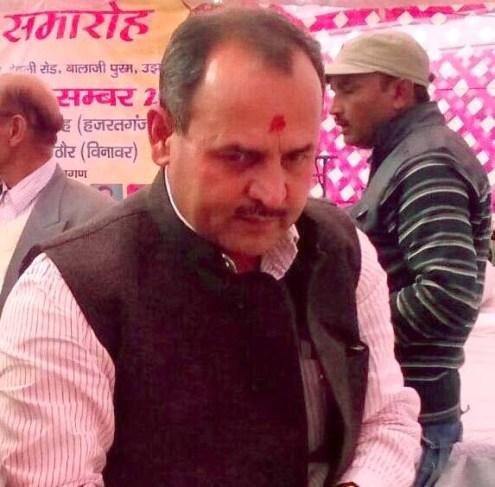 भाजपा नेता उमेश राठोर