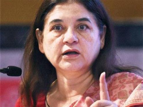 केंद्रीय महिला एवं बाल विकास मंत्री व पीलीभीत की सांसद मेनका गांधी
