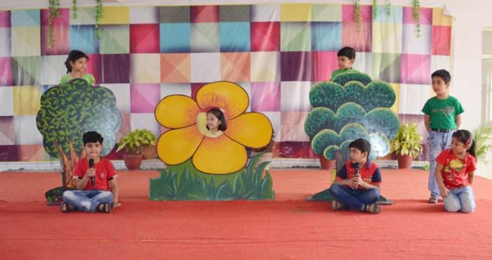 ब्लूमिंगडेल स्कूल में पृथ्वी दिवस पर बच्चों ने प्रस्तुत किये मनमोहक कार्यक्रम