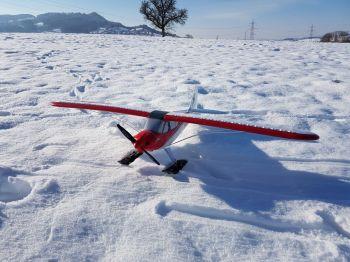Avion neige 1