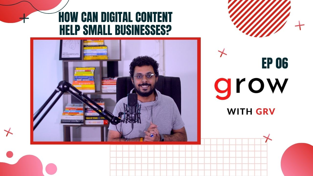 How can digital content help small businesses?