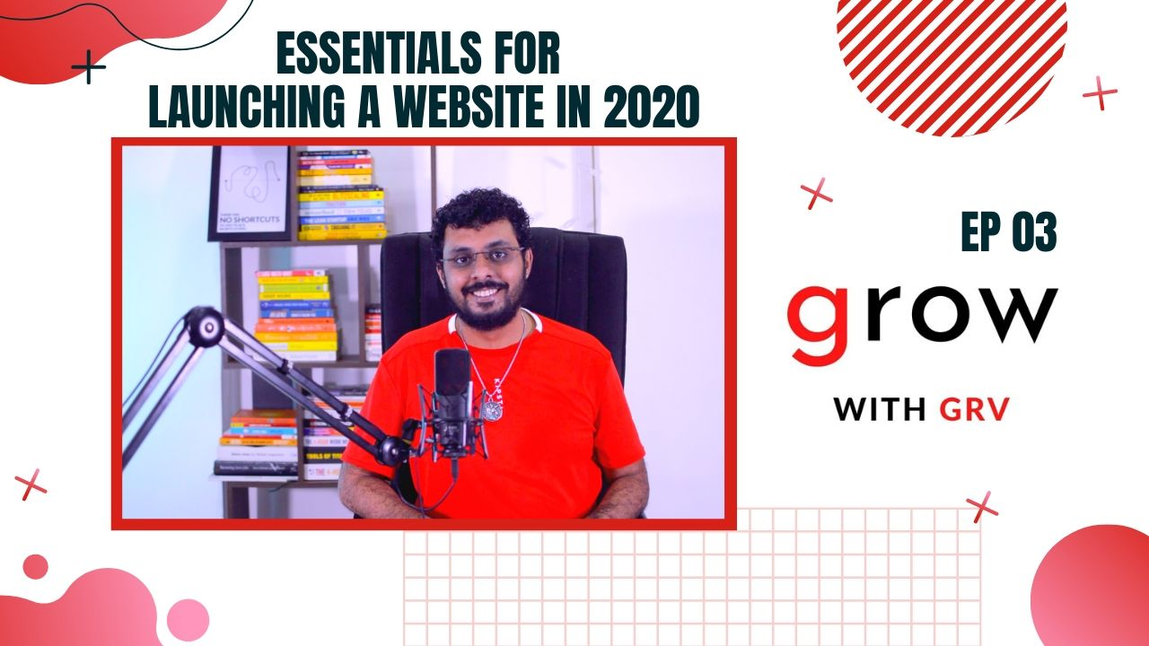 Essentials for launching a website in 2020