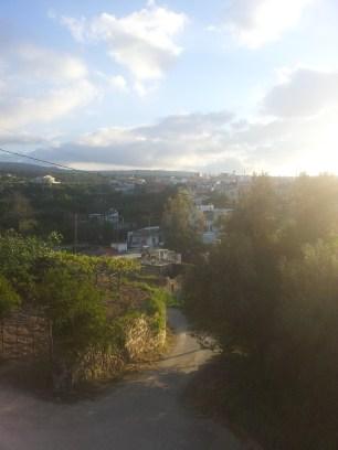 la vue du monastère de Margheritas
