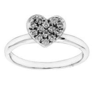 diamantringhjerte