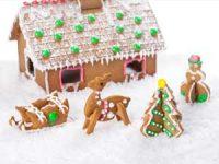 3D-pepperkakeformer - flotte til julefeiringen Image