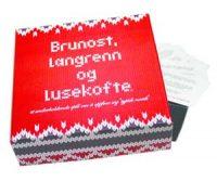 Brunost, langrenn og lusekofte - spørrespill Image