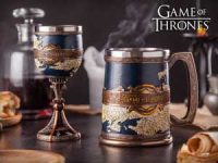 Game of Thrones seidel og vinglass - Seven Kingdoms Image