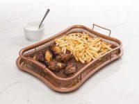 KitchPro® Crisper ovnsform - Si farvel til slappe pommes frites! Image
