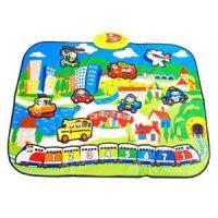 Leke til barn - Lydmatte city med trafikkstøy Image