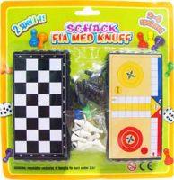 Sjakk og ludo i praktisk format Image