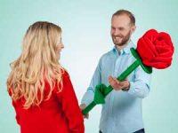 Spralla gigantisk rose Image