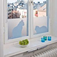 Vindusfilm - Cats in window Image