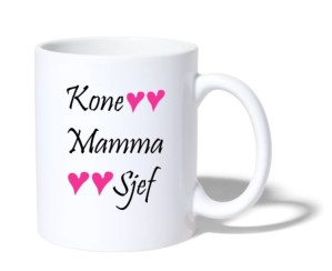 Kopp - Kone, mamma og sjef Image