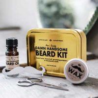 Skjeggpleie - Damn Handsome Beard Kit Image