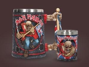 Iron Maiden seidel og shotglass Image