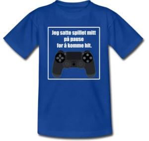 T-skjorte til gamer / Tenåring Image