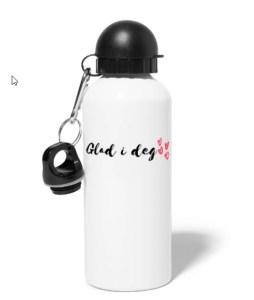 Drikkeflaske - Glad i deg Image