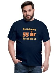 T-skjorte til 55-åring (mann) Image