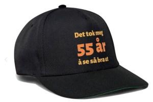 Caps til 55-åring Image