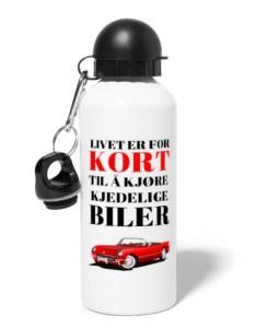Drikkeflaske - Livet er for kort til å kjøre kjedelige biler Image