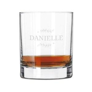 Whiskyglass med navn Image