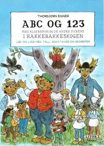 Barnebok - ABC og 123. Med Klatremus og de andre dyrene i Hakkebakkeskogen. Image
