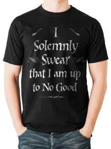 Harry Potter - Solemnly Swear T-Skjorte Image