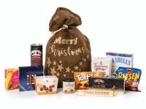 Mega-julesekk med godteri Image