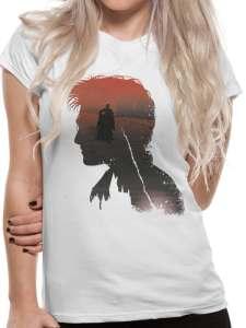 Harry Potter - Battle Silhouette T-Skjorte Image