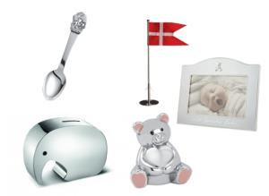 Dåbsgaver i sølv, barnedåbsgaver i sølv