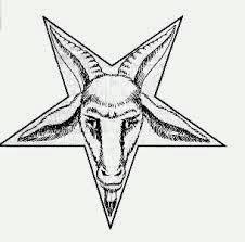 Baphomet Franco Maçon Pan Behemot Baphomet Templários Pentagrama Invertido Bode Maçonaria Significado do bode da maçonaria