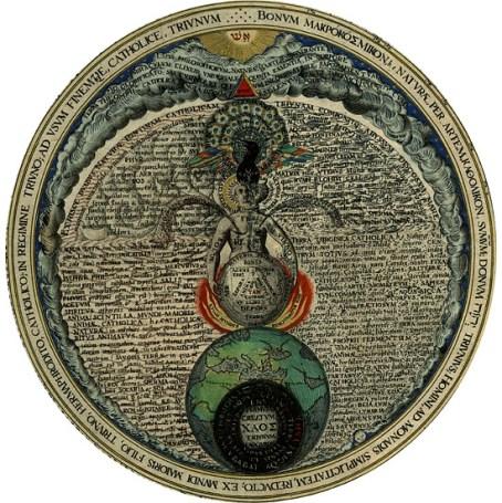 Hermafrodita de Khunrath Behemot Baphomet Templários Pentagrama Invertido Bode Maçonaria Significado do bode da maçonaria