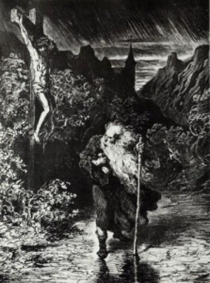 Ahasverus By Gustave Dore