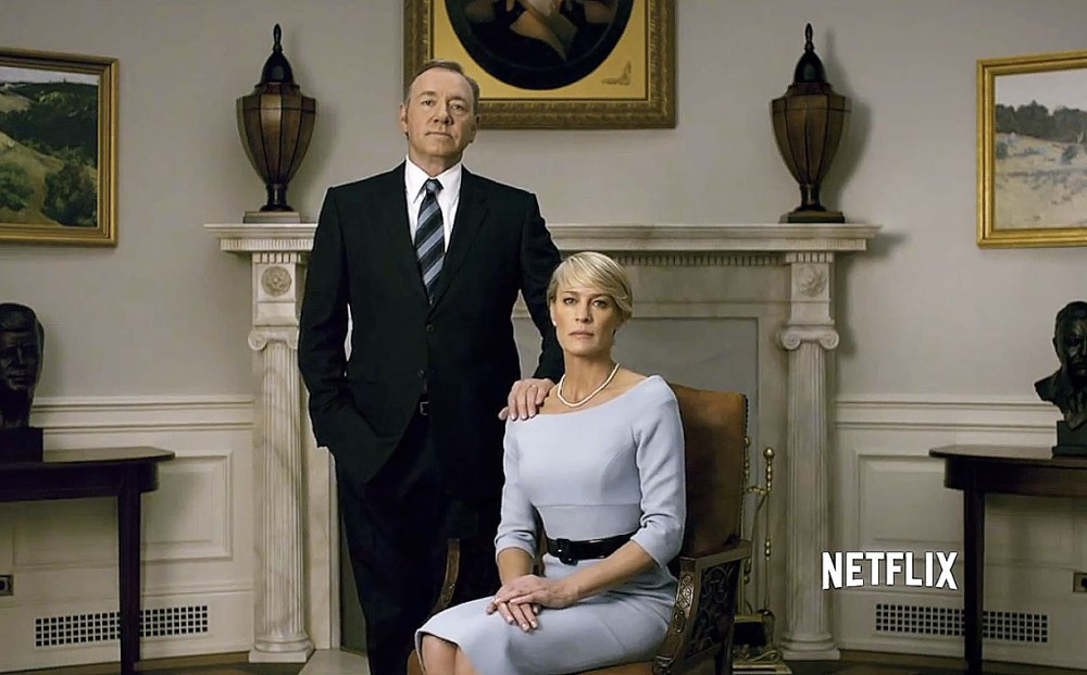 Kevin Spacey e Robin Wright