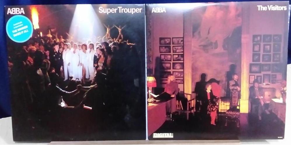 ABBA Super Trouper The Visitors