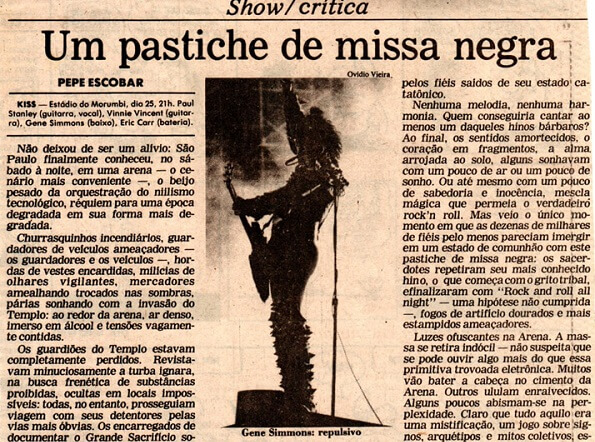 Kiss Brasil 1983
