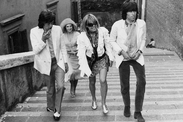 Rolling Stones Sympathy for the Devil Keith Richards Mick Jagger Anita Pallenberg Marianne Faithfull Brazil 1968