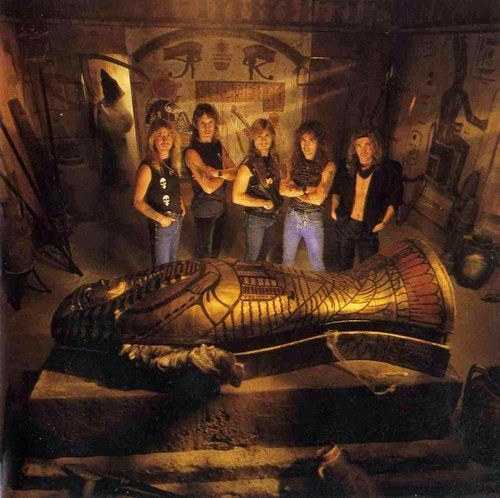 Iron Maiden Powerslave Aleister Crowley Thelema