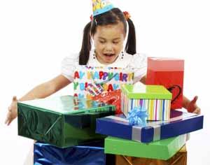gave til barn