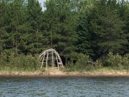 August 12 Sweat Lodge at Gargantua Harbour