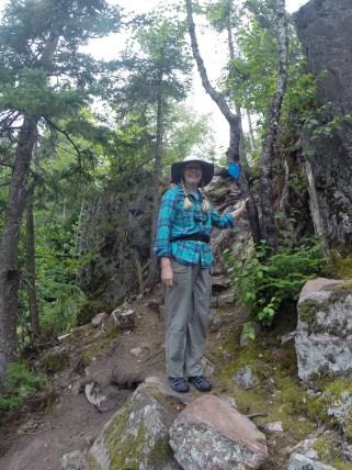 August 11 Climbing at Sinclair Cove
