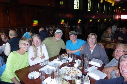 June 30 WWS member Sheri Lynn along with the owners of Roy's