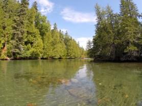 August 13 Dingy ride up the Gargantua River
