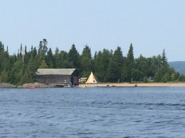 August 15 Along the Michipicoten River