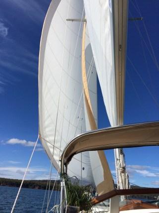 October 4 Last sail of the 2015 season