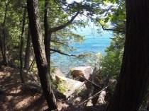 September 12 Hiking on Stockton Island